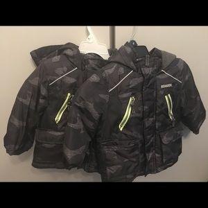 Winter jacket for toddler boys